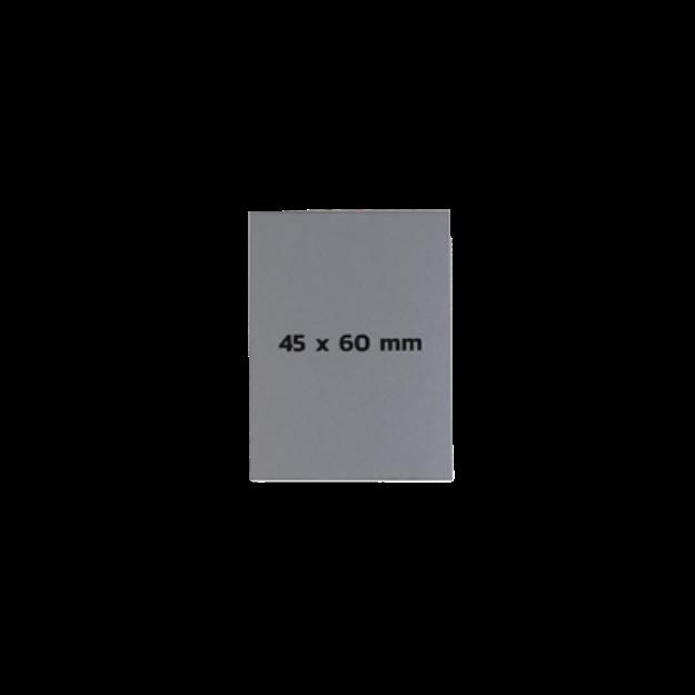 รูปของ Sticker On Demand Laser Engrave Label เลเซอร์มาร์กกิ้งลาเบล ขนาด 45 x 60 มิลลิเมตร