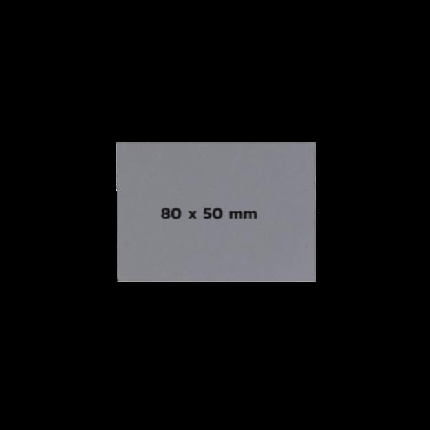 รูปของ Sticker On Demand Laser Engrave Label เลเซอร์มาร์กกิ้งลาเบล ขนาด 80 x 50 มิลลิเมตร