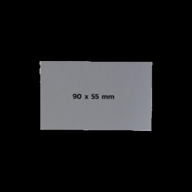 รูปของ Sticker On Demand Laser Engrave Label เลเซอร์มาร์กกิ้งลาเบล ขนาด 90 x 55 มิลลิเมตร