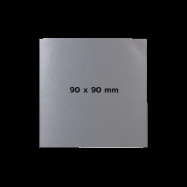 รูปของ Sticker On Demand Laser Engrave Label เลเซอร์มาร์กกิ้งลาเบล ขนาด 90 x 90 มิลลิเมตร
